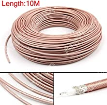 Areyourshop RG142 - Cable coaxial (10 m, 50 ohm, M17/60, RG-142, coaxial, 32 pies)