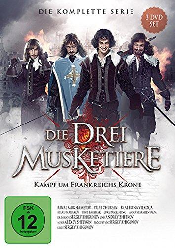 Die Drei Musketiere - Kampf um Frankreichs Krone - Die Serie zum Film [3 DVDs]