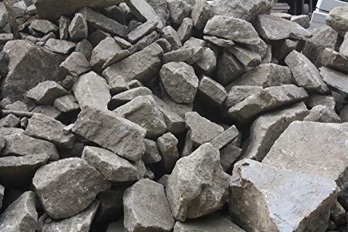 Mauersteine Bruchfels grau braun Trockenmauerstein Beeteinfassung 1qm frachtfrei