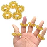 Momorain Finger-Massage Ring Akupunktur Ring Health Care Körpermassager- Relax Handmassage Finger...