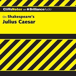Julius Caesar: CliffsNotes cover art