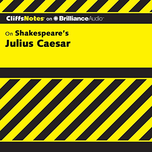 Julius Caesar: CliffsNotes audiobook cover art