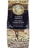 Royal Kona 10% Kona Coffee Blend, Toasted Coconut Flavor - Ground 8 Ounce Bag