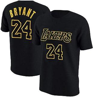 88e25b3c Camiseta De La NBA L.A Lakers Kobe Bryant Manga Corta Jubilado  Conmemorativo Jersey De Algodón #