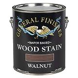 一般的な仕上げWwga Waterbase木製ステイン、1ガロン、ウォールナット