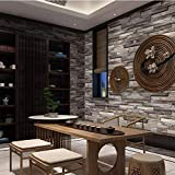 Holzmaserung Faux-Effekt, Rustikaler Holzmaserung Möbel Aufkleber PVC-Tapeten Schrank Schrank Dekorpapier, Tapeten Wasserdicht 20.86IN * 32.8ft,Wood color