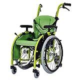Gcxzb Silla de ruedas for niños, plegables ligeros pequeños discapacitados portátiles, scooter de carro, coche silla de ruedas manual plegable silla de ruedas Lightweight niño pequeño portátil de la c