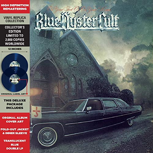 On your Feet or on your Knees (Translucent Blue Vinyl) [Vinyl LP]