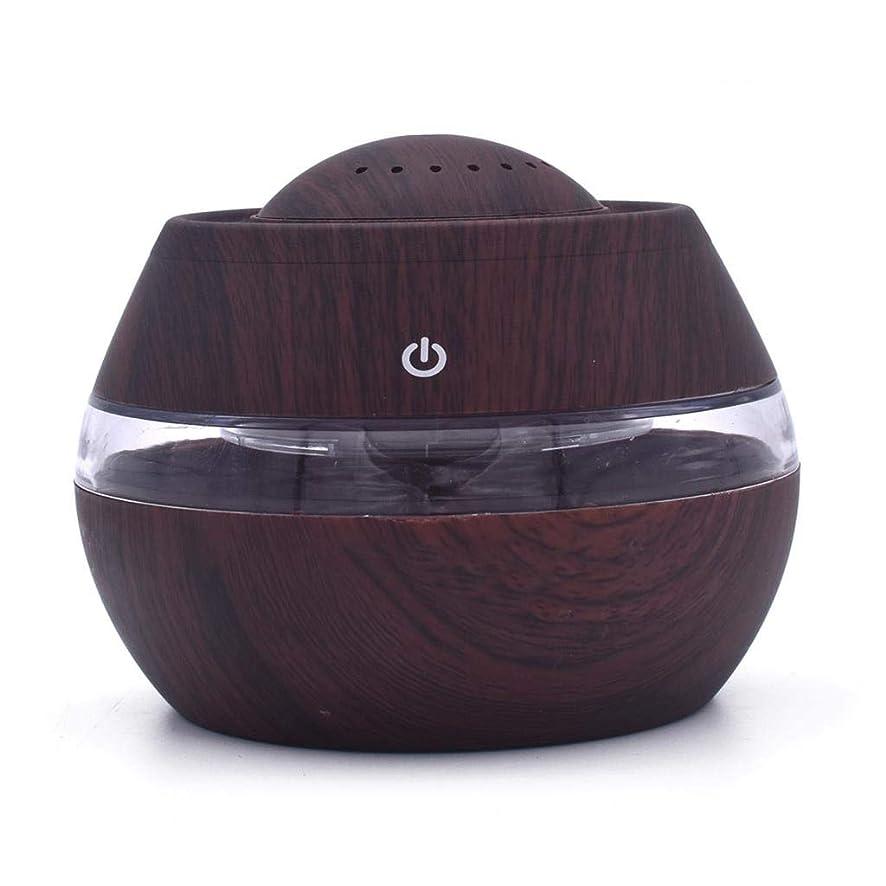 納税者コメント蒸芳香 拡張器 清涼 薄霧 加湿器 騒音36dB 以下 ミスト アロマ フレグランス 癒し リラックス 調光 LED 寝室 (Color : Dark wood)