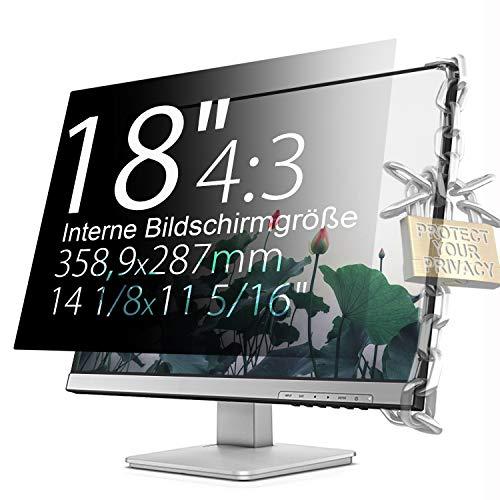 Xianan 16:9/16:10/5:4/4:3/21:9 Displayfilter 0622 Seitenverhältnis 4:3 Voor 18 inch standaardbeeldscherm [14,13 x 11,3