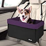 JESPET Dog Booster Seats for Cars, Portable Dog Car Seat Travel...