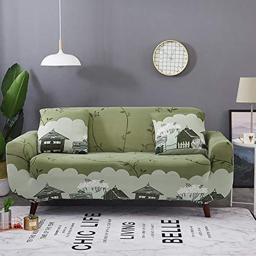 Topashe Funda sofá Duplex,Funda de sofá Decorativa, Funda de sofá antideslizante-185-230cm,elástico Tejido Protector por sofá Funda
