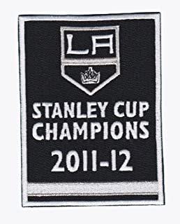 2012 Stanley Cup Final Champions Banner Los Angeles Kings Opening Night Jersey Patch