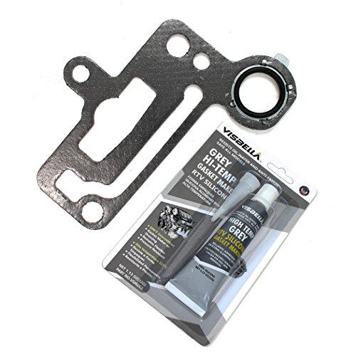EGR Valve Adapter Gasket w/RTV Gasket Maker Compatible with 2006-08 CHEVROLET/SUZUKI 2.0L 1998cc (122) L4 DOHC (16-Valve),'A20DMS'