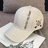 Sombrero de Marea de Invierno para Hombre, Sombrero de Hip-Hop Coreano, Gorra de béisbol Salvaje Informal, Gorra de...