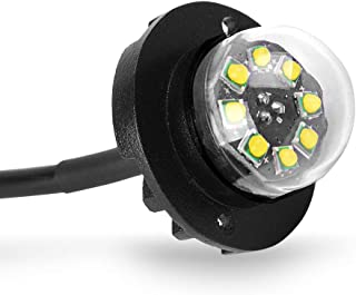 Hideaway Strobe Lights White High Power 24W 8 Chipsets Surface Mount Waterproof Hideaway Emergency Lights (White)