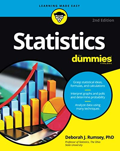 Compare Textbook Prices for Statistics For Dummies,  For Dummies Math & Science 2 Edition ISBN 9781119293521 by Rumsey, Deborah J.