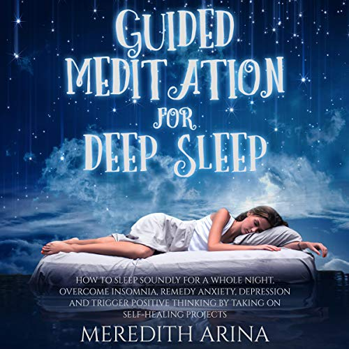 『Guided Meditation for Deep Sleep』のカバーアート