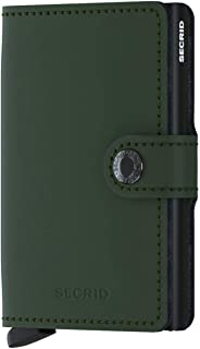 secrid slim wallet matte green