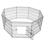 KCT Medium Pet Puppy/Dog PlayPen - 8 Panels