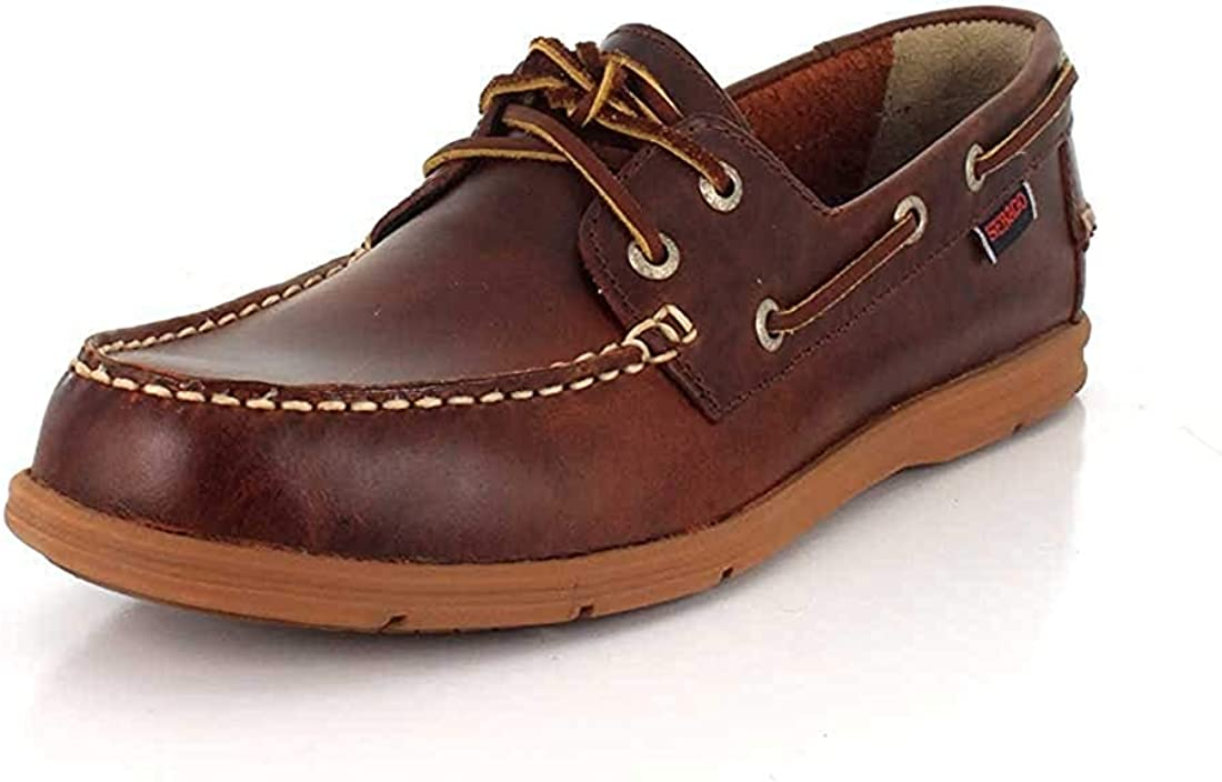 Sebago Mens Liteside Two Eye Boat Shoe