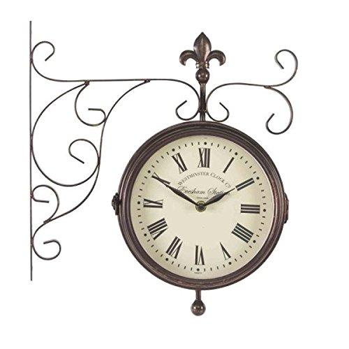 Outside-In Marylebone Station 20,3 cm doppio orologio e termometro (5063010)
