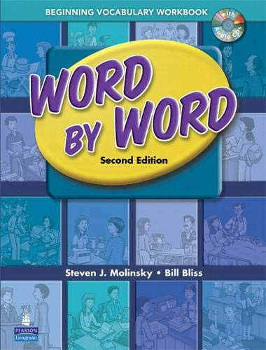 Word by Word Picture Dictionary Beginning Vocabulary Workbook with Audio CD