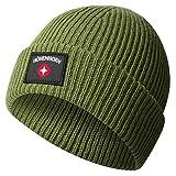 Höhenhorn Ronce Knitted Beanie Unisex Herren Damen Mütze Grün