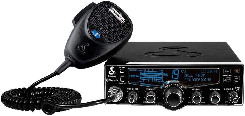 Cobra 29LXBT Professional CB Radio & HG S500 Highgear CB Speaker ...