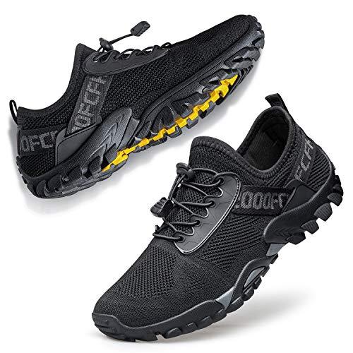 FANDEE Men's Women's Trail Running Shoes Workout Walking Water Sneakers Fitness Male Hiking Sneakers Trainer Cross Training Crossfit