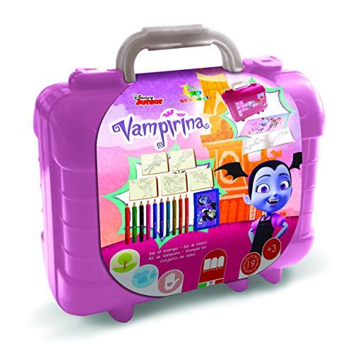 Multiprint Vampirina - Juegos de sellos para niños (Multicolor, Caucho, Madera, 3 año(s), Italia, 230 mm, 105 mm)