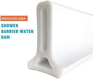 jinclonder Umbral de Ducha Plegable Presa de Agua Barrera de Ducha y Sistema de retención y Mantiene el Agua Dentro del umbral para el hogar Baño Cocina