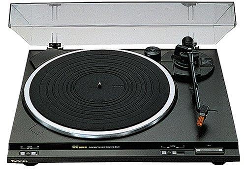 Technics SL-BD 20 D EG-K Halbautomatischer Plattenspieler schwarz