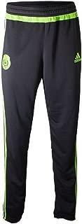 Mexico Soccer Training Pant (Black, Semi-Solar Green)