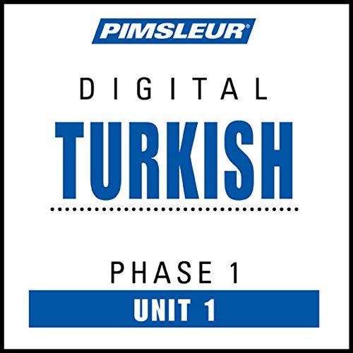 Turkish Phase 1, Unit 01 audiobook cover art