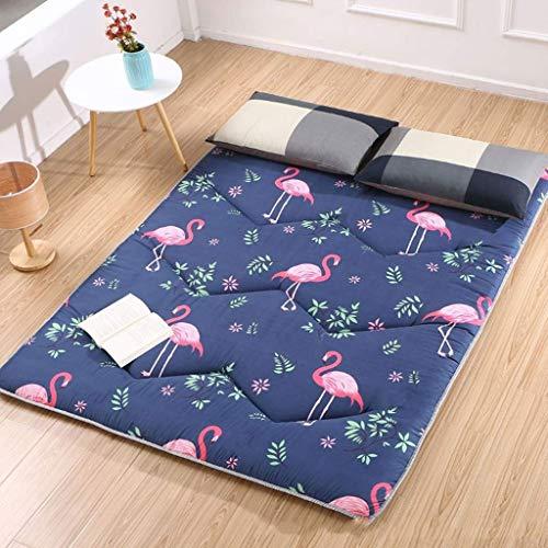 Doux Japanse Futon matras, inklapbaar en oprolbaar, matras voor futon, gewatteerd, ruimtebesparend 200x150cm(79x59inch) Een