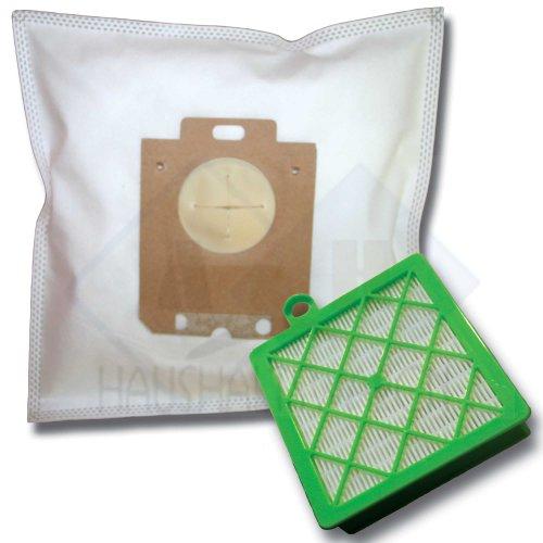 20 Staubsaugerbeutel + Hepa Filter (H12) geeignet für Privileg/Quelle Super Clean