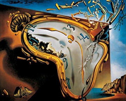 1art1 Salvador Dali Die Weichen Uhren Poster Kunstdruck 70 X 50 Cm Amazon De Küche Haushalt