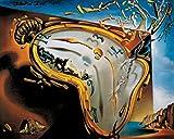 1art1 Salvador Dali - Relojes Blandos Póster Impresión Artística (70 x 50cm)