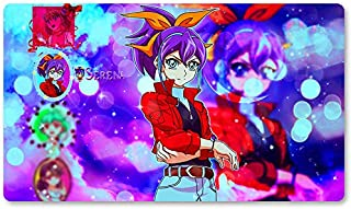 Bracelet Girls Serena - Board Game Yugioh Playmat Games Table Mat Size 60X35 cm Mousepad MTG Play Mat for Yu-Gi-Oh! Pokemon Magic The Gathering