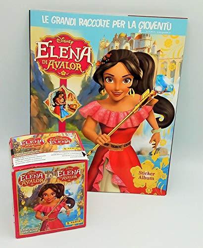 GS1 Elena di Avalor Album + Box 50 BUSTINE Figurine PANINI