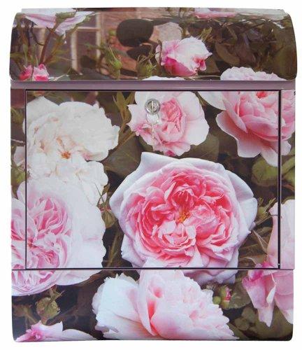 Maria Becker/Diebrievenbus firma brievenbus roze rozen