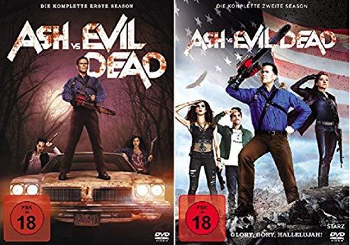 Ash vs Evil Dead Staffel 1+2 [DVD Set]