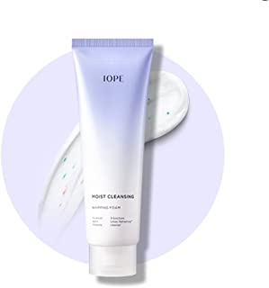 IOPE New Moist Cleansing Whipping Foam 180ml Skin Purifying 6 Free