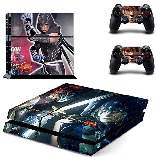 TAOSENG Dead Or Alive 6 Ps4 Skin Sticker Decal per Playstation 4 Console e 2 Controller Skin Ps4 Sticker Vinile