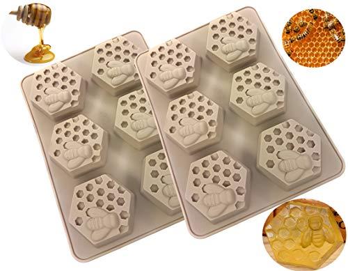 Soapy 2 moldes de jabón para miel.