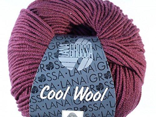 Lana Grossa Cool Wool 2000 2041 Burgund 50g