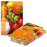 PRICARO Carpeta de recetas con bloc de recetas 'Ingredientes