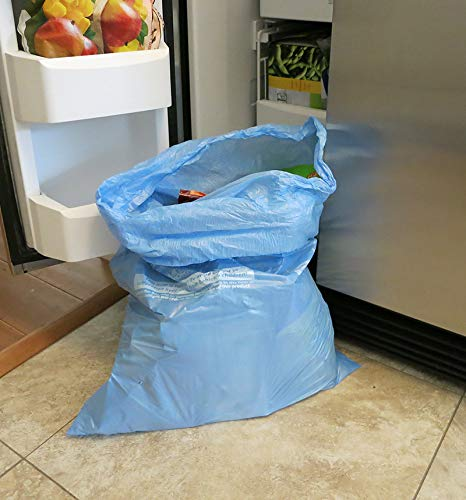MiracleWorks Keep Food Frozen! - 6 Pack! - Keep Food Frozen in Transit from Supermarket to Home - Freezer Bags, Keep Frozen Bags