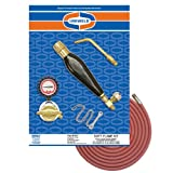 Uniweld K37 Air/Acetylene Soft Flame Kit for B Tank with TH3 Handle and S23 Screw Connect Tip